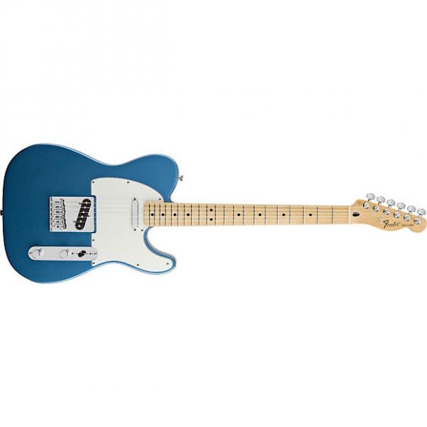 Custom Fender Standard Telecaster® Maple Fingerboard, Lake Placid Blue #1 image