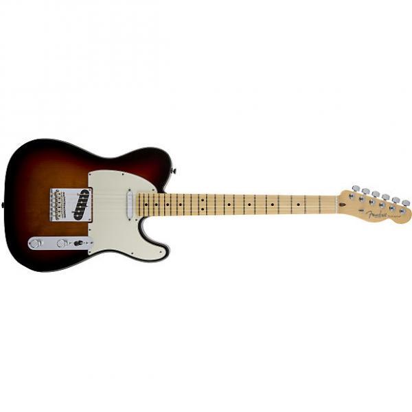 Custom Fender American Standard Telecaster® Maple Fingerboard 3-Color Sunburst - Default title #1 image