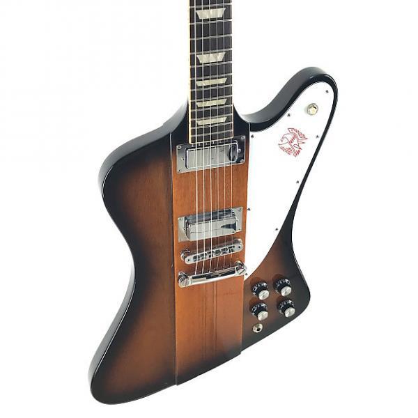 Custom Gibson Firebird V, Vintage Sunburst, USA, 2015, OHSC, NEAR NEW #1 image