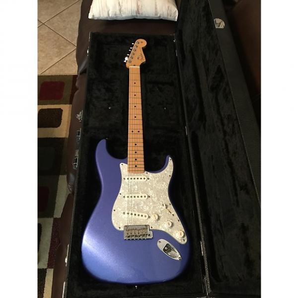 Custom USA Fender Stratocaster Ocean Metallic Blue #1 image