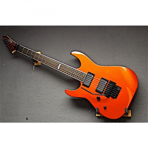 Custom ESP Left Handed LTD M-400M 2016 Agent Orange Lefty Guitar #1 image