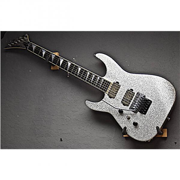 Custom Jackson Left Handed USA Custom Shop SL2H Soloist 2016 Silver Sparkle Lefty Guitar #1 image