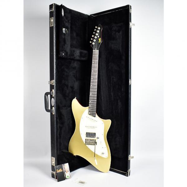 Custom LsL  DelRey Bound Gold Top Finish Electric Guitar USA w/OHSC Gold #1 image