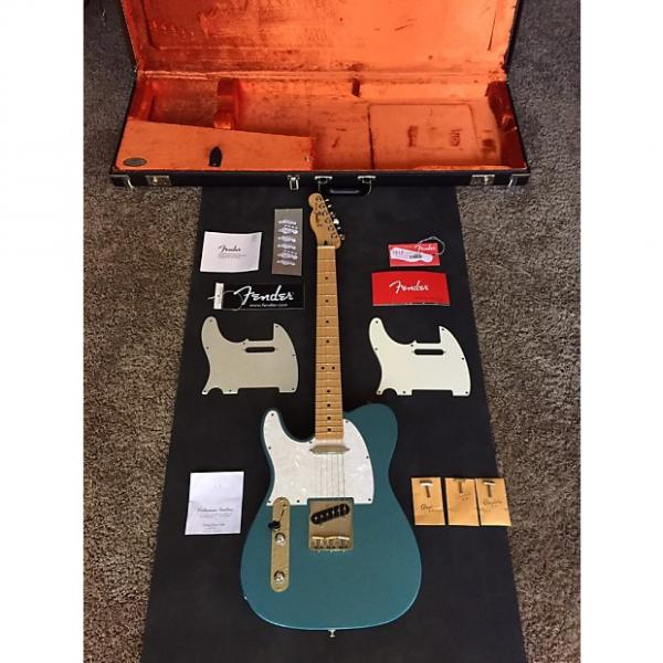 Custom Fender Standard Telecaster Left Handed 2015 Lake Placid Blue #1 image