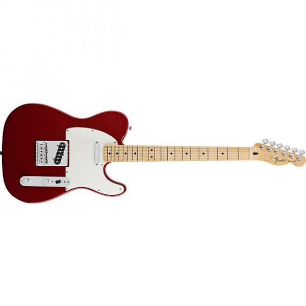 Custom Fender Standard Telecaster® Maple Fingerboard, Candy Apple Red - Default title #1 image