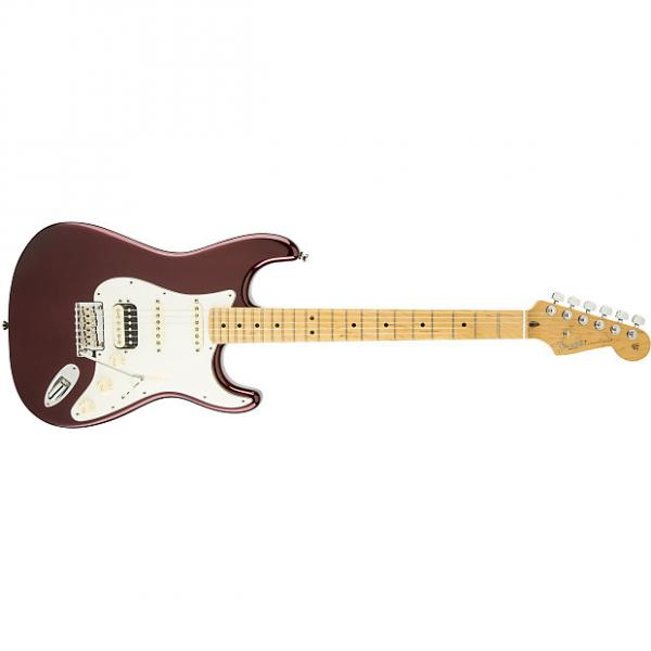 Custom Fender American Standard Stratocaster® HSS Shawbucker™ Maple Fingerboard Bordeaux Metallic - Default title #1 image