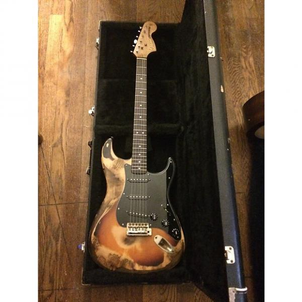 Custom Fender 70's Style Relic Strat (F*cker Strat) w/HSC #1 image