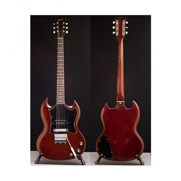 Custom Gibson SG Junior with Tremolo 1967 Aged Cherry #1 image