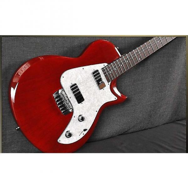 Custom Taylor SB1X Translucent Red #1 image