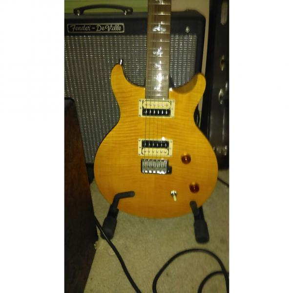 Custom Paul Reed Smith PRS SE Santana Yellow W/ Case & Gig bag Locking tuners. #1 image