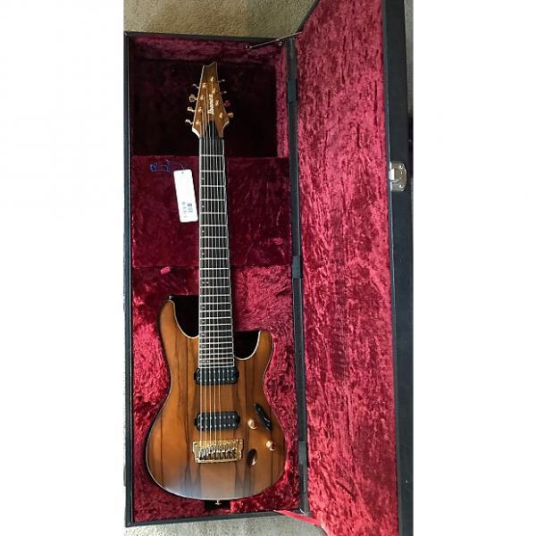 Custom 8 string Ibanez  S5528LW prestige 2014 #1 image