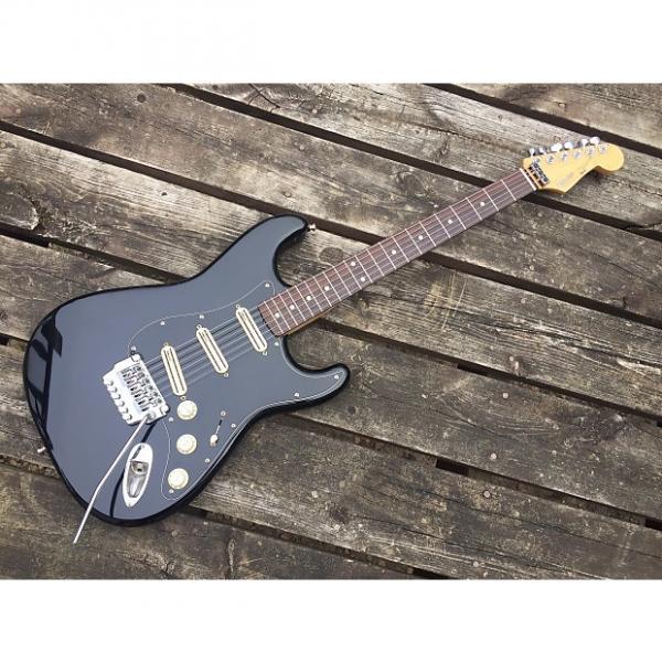 Custom Fender Squier Stratocaster 80's Black #1 image