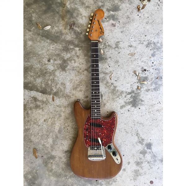 Custom Fender Mustang 1967 Brown Natural #1 image
