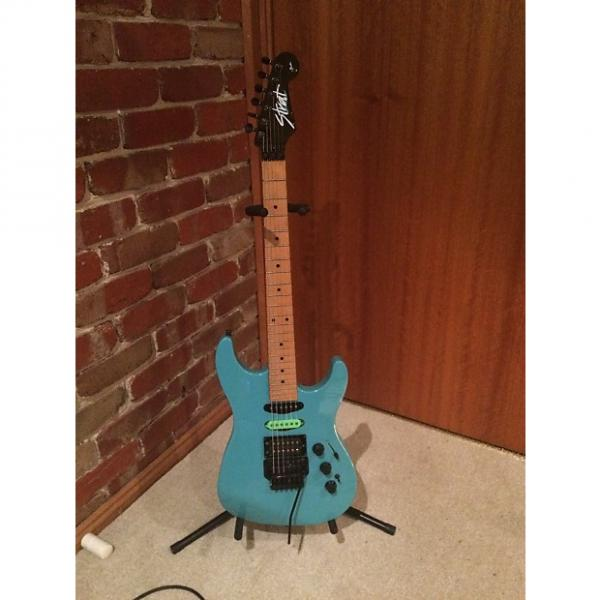 Custom Fender HM Strat 1988 Ice Blue #1 image