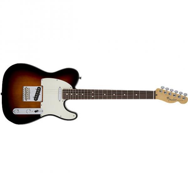 Custom Fender American Standard Telecaster® Rosewood Fingerboard 3-Color Sunburst - Default title #1 image