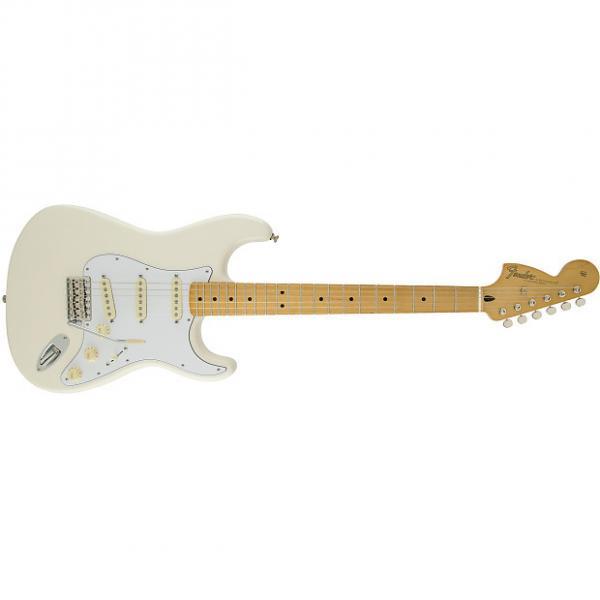 Custom Fender Jimi Hendrix Stratocaster® Maple Fingerboard, Olympic White - Default title #1 image
