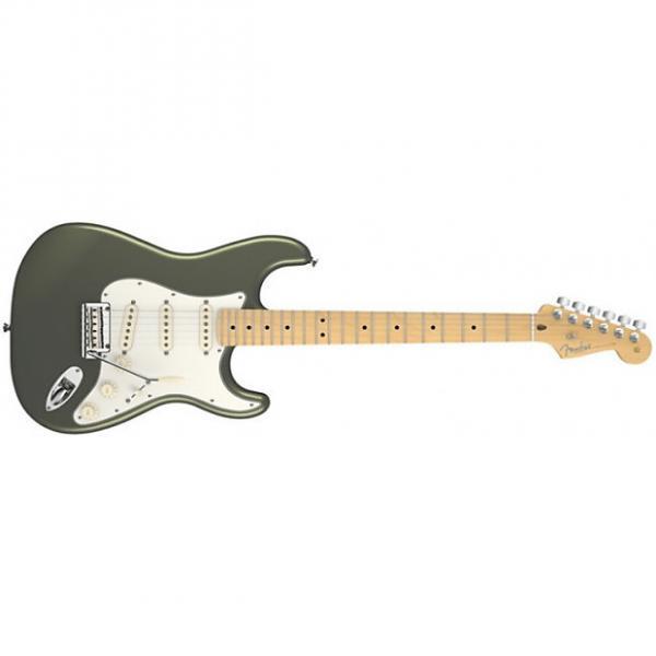 Custom Fender American Standard Stratocaster® Maple Fingerboard Jade Pearl Metallic #1 image