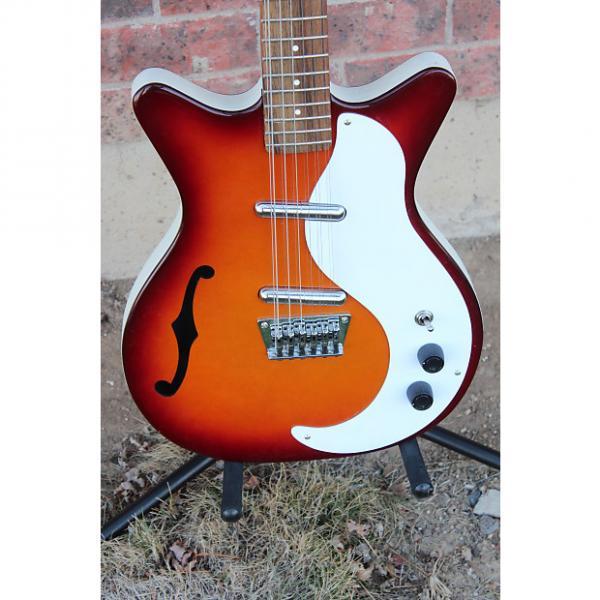 Custom Danelectro 12SDC 12 String Electric Guitar Made in Korea Cherry Sunburst Finish DC '59 #1 image