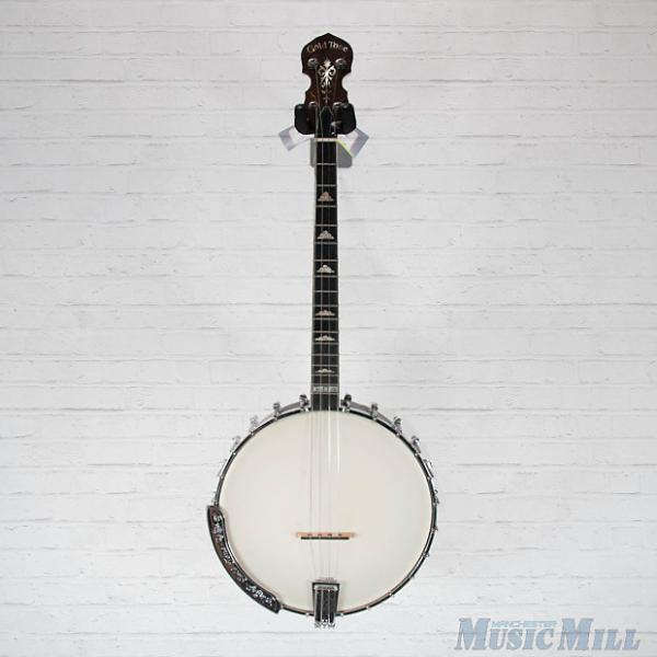 Custom Gold Tone IT-250 Irish Tenor Banjo Vintage Brown w/Bag #1 image