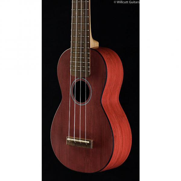 Custom Martin 0X Uke Bamboo Red Soprano (474) #1 image