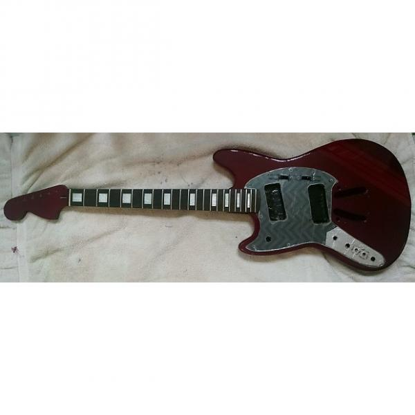 """Custom LEFT Handed 25.5"""" scale length Mustang style parts - Body/Neck/Pickguard #1 image"""
