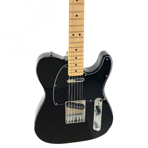 Custom Fender Telecaster, Black on Black, 2010, NEAR MINT CONDITION #1 image