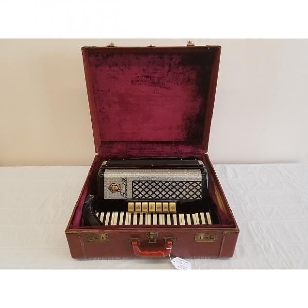 Custom Scandalli 750/20 1950's Gloss Black w/Chrome Trim #1 image