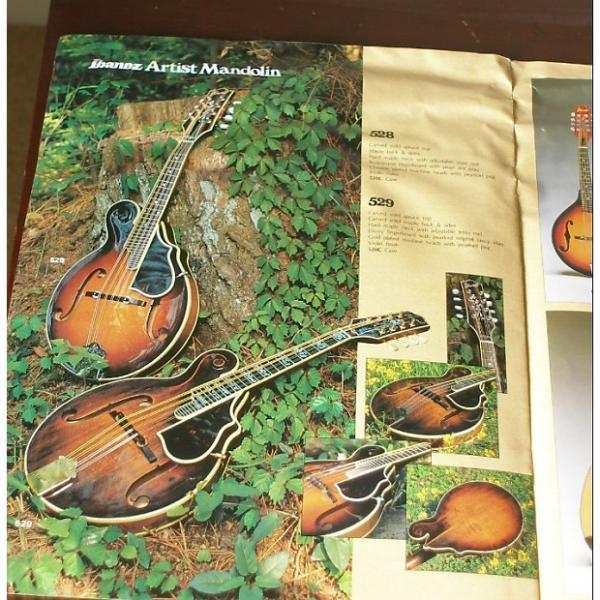Custom Ibanez 529  Mandolin - 1982 - Antique Violin brown #1 image
