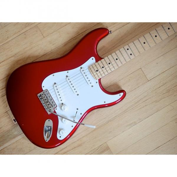 Custom 2011 Fender American Special Stratocaster Electric Guitar USA Candy Apple Red #1 image