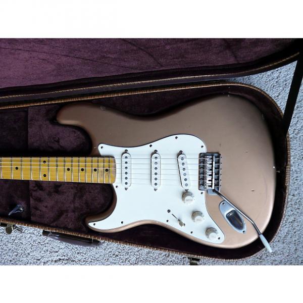 Custom Left Handed 2017 Bill Nash S-67 Les Paul Gold guitar Lollars LH Large Headstock #1 image