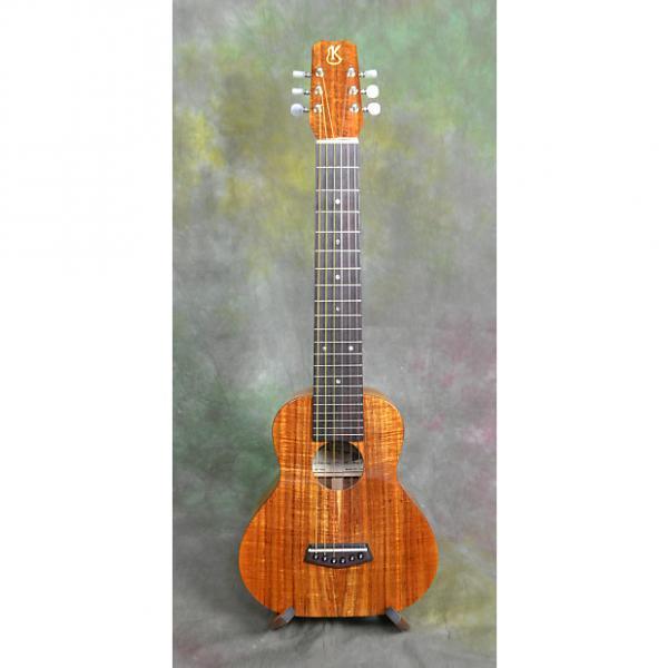 Custom Kanile'a 'Ukulele K-1 GL6 KOA GUITARLELE w/soft case, natural, used #1 image