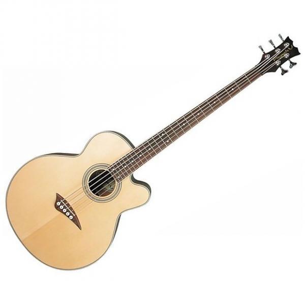 Custom Dean EABC Cutaway Acoustic-Electric Bass Natural #1 image