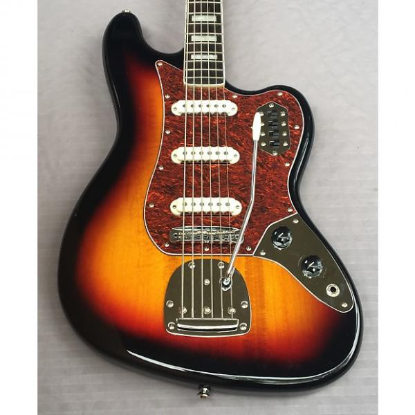 Custom Squier Vintage Modified Bass VI 6 In 3-Color Sunburst #1 image