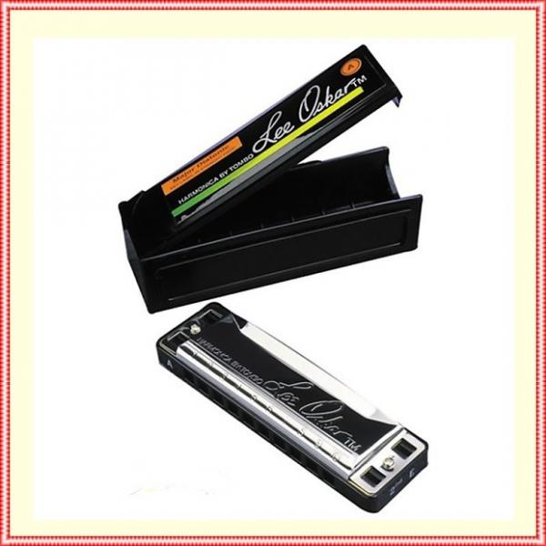 Custom Lee Oskar by Tombo Major Diatonic Harmonica D major 1910D Blues Harp #1 image