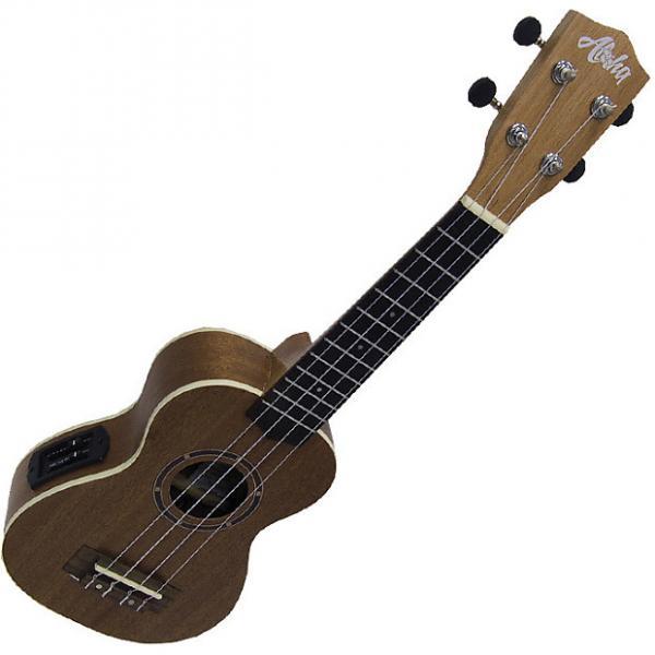 Custom Aloha 500EQ ukelele soprano electrificado #1 image