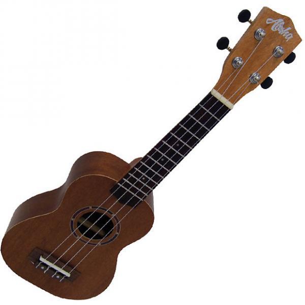 Custom Aloha 600S natural ukelele soprano, ukulele #1 image