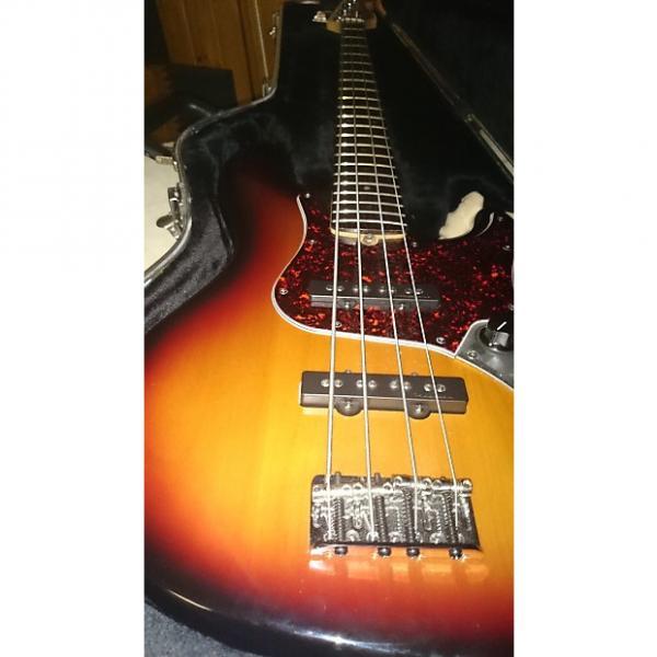 Custom Fender American Jazz Bass Deluxe 2003 Sunburst #1 image