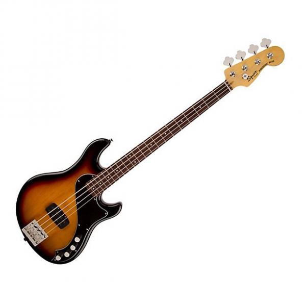 Custom Fender Squire Deluxe Dimension iv bass 2016 3 Tone Sunburst #1 image