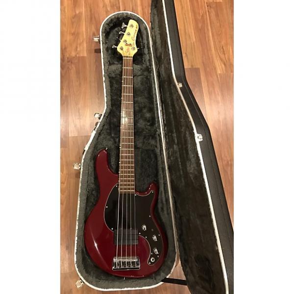 Custom Status Graphite Groove Bass 1998 Claret #1 image