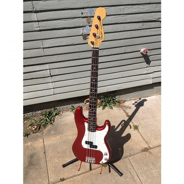 Custom 1989 fender precision-Candy Apple RED-Japan-E Series-Case #1 image