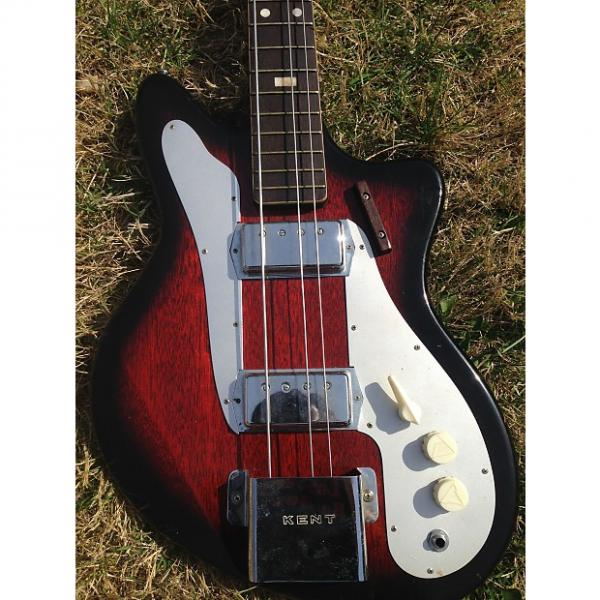 Custom Kent Mont Clair Bass with case Japan Kawai Teisco #1 image