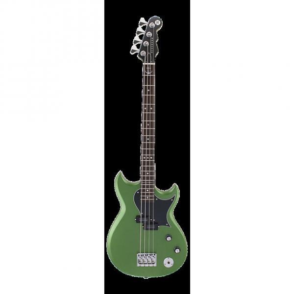 Custom Reverend Mike Watt Wattplower Bass 2017 Satin Emerald Green #1 image