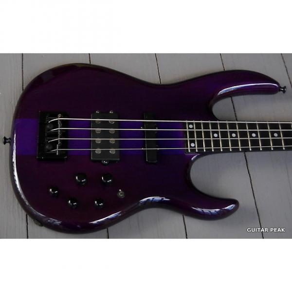 Custom Carvin LB70 Bass Active-Passive with Hardshell Case 2000s Trans Purple #1 image