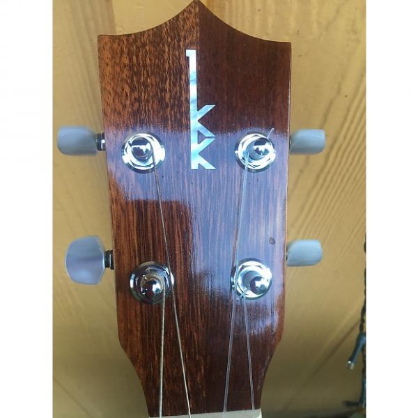 Custom Kamaka hf-4 baritone ukulele with lr baggs pickup #1 image