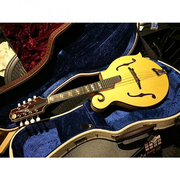 Custom NEW! F-Style Paris Swing Mandolin Natural with Gator Hard Case Mando F5 Acoustic Gypsy Jazz Parisian #1 image