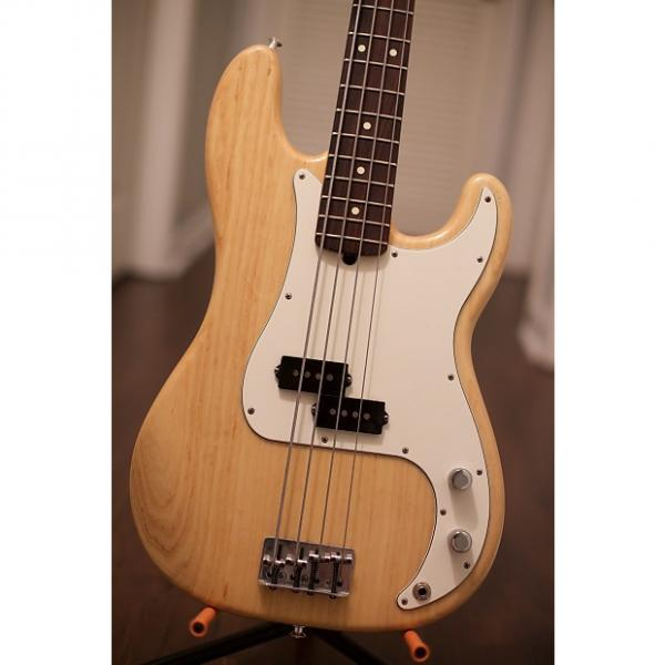 Custom Fender American Standard Precision Bass 2001 Natural #1 image