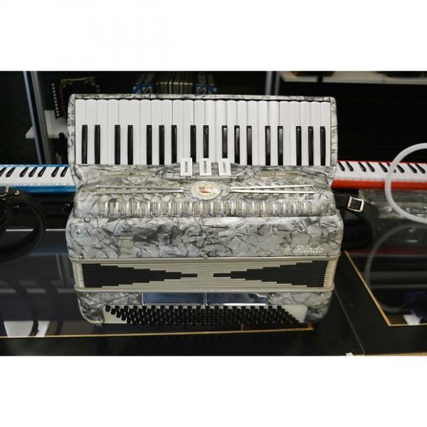 Custom Imperial Lindo Piano Accordion Gray Marble #1 image