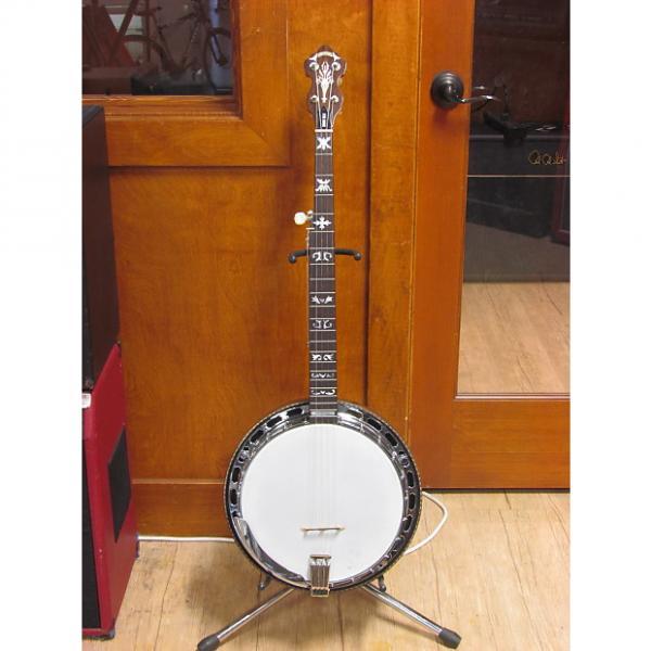 Custom MIJ Alvarez Denver Belle 5-String Resonator Banjo #1 image