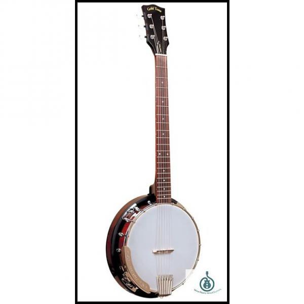 Custom Gold Tone Cross Creek Banjitar 6-String Banjo Guitar; Free Shipping #1 image