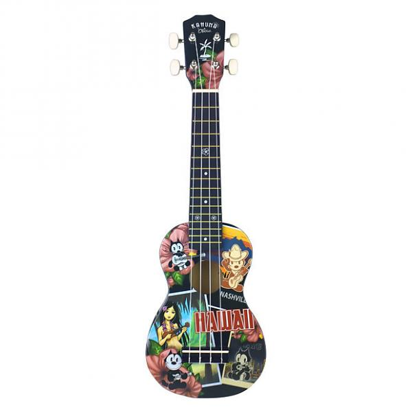 Custom Felix the Cat Soprano Ukulele, Travel #1 image